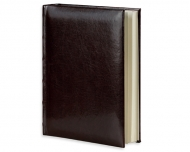 Album na zdjęcia Skórzany ciemny brąz - 100 zdjęć, 15x17 cm