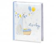 Album na zdjęcia Kołyska niebieski - 200 zdjęć, 20x25 cm
