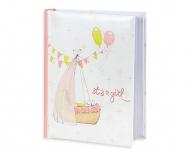Album na zdjęcia Kołyska różowy - 200 zdjęć, 20x25 cm