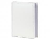 Album na zdjęcia Skórzany biały - 100 zdjęć, 15x17 cm