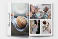 Fotozeszyt Kolaż zdjęć rodzinnych, 20x30 cm