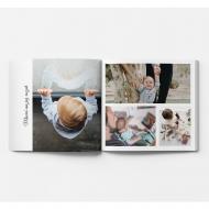 Fotozeszyt Kolaż zdjęć rodzinnych, 20x20 cm