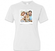Koszulka damska, Odbitka na koszulce