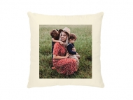 Poduszka, bawełna ekologiczna, Twój projekt, 40x40 cm