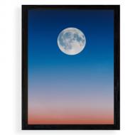 Plakat w ramce, Księżyc, 20x30 cm