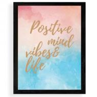 Plakat w ramce, Positiv, 30x40 cm