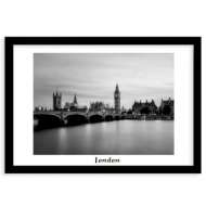 Plakat w ramce, Londyn, 40x30 cm