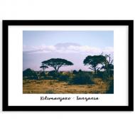 Plakat w ramce, Kilimandżaro , 40x30 cm