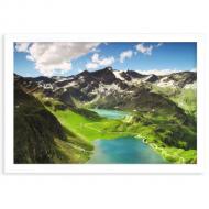 Plakat w ramce, Góry, 30x20 cm