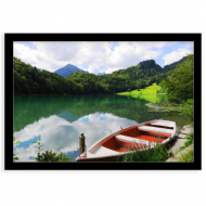 Plakat w ramce, Jezioro, 30x20 cm