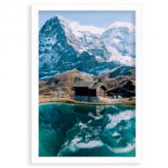 Plakat w ramce, Alpy, 20x30 cm