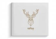 Album z eko skóry Wild trip, 24x24 cm