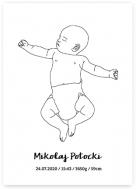 Plakat, Plakat Baby, 30x40 cm