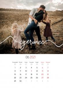 Kalendarz, Rodzina, 20x30 cm