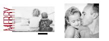 Świąteczna minimalistyczna fotoksiążka, 30x20 cm