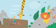 Fotoksiążka Leśne przygody (wersja-dla-dziewczynki), 20x20 cm