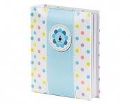 Album na zdjęcia Niebieski kwiatek, 15x17 cm