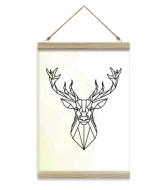 Obraz na sznurku, Wild, 20x30 cm
