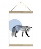 Obraz na sznurku, Lis z kropką, 20x30 cm