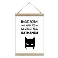 Obraz na sznurku, Batman, 20x30 cm