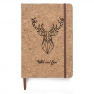 Notes korkowy Wild, 14x21 cm
