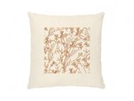 Poduszka, bawełna ekologiczna, Pure Nature - flower, 40x40 cm