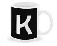 Kubek, Typograficzny czarny - K