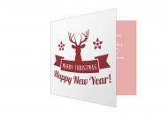 Fotokartki Merry Christmas 2, 14x14 cm