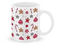 Kubek, Christmas pattern