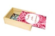 Pudełko, Płatki, 12x17 cm