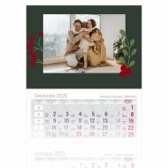 Kalendarz trójdzielny, Elegancki, 30x85