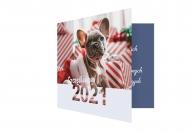 Fotokartki Szczęśliwego 2021, 14x14 cm