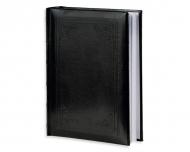 Album na zdjęcia Skórzany czarny grawerowany - 300 zdjęć, 20x25 cm