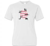 Koszulka damska, Kolekcja Typowy Kot - Byłam normalna 3 koty temu