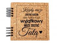 Album korkowy Dla taty, 20x20 cm