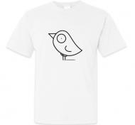Koszulka męska, Kolekcja Ptaszek Staszek - Basic