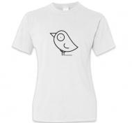 Koszulka damska, Kolekcja Ptaszek Staszek - Basic