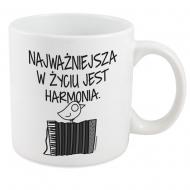 Kubek, Kolekcja Ptaszek Staszek - Harmonia - kubek XXL
