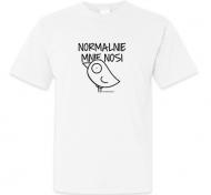 Koszulka męska, Kolekcja Ptaszek Staszek - Normalnie mnie nosi