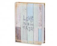 Album na zdjęcia Deski niebieskie - 200 zdjęć, 20x25 cm