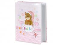 Album na zdjęcia Baby różowy - 300 zdjęć, 20x25 cm
