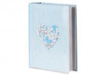 Album na zdjęcia Niebieskie serce - 300 zdjęć, 20x25 cm
