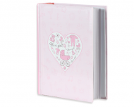 Album na zdjęcia Różowe serce - 300 zdjęć, 20x25 cm