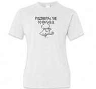 Koszulka damska, Kolekcja Ptaszek Staszek - Rozbieraj się
