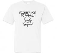 Koszulka męska, Kolekcja Ptaszek Staszek - Rozbieraj się