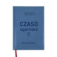 Kalendarz książkowy Czaso ogarniacz - granatowy, 15x21 cm