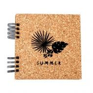 Album korkowy Summer, 15x15 cm