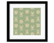 Plakat w ramce, Pure Nature - Insect - Czarna Ramka, 35x35  cm