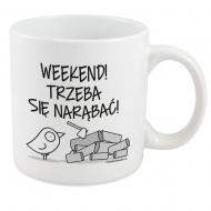 Kubek, Kolekcja Ptaszek Staszek - Weekend XXL