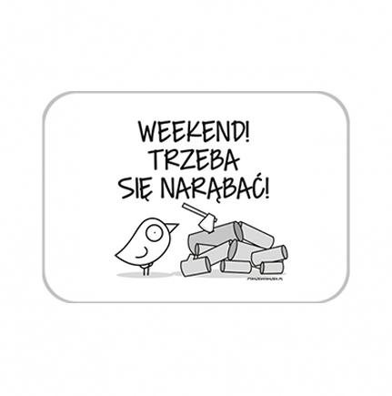 Brelok Kolekcja Ptaszek Staszek - Weekend, 7x5 cm
